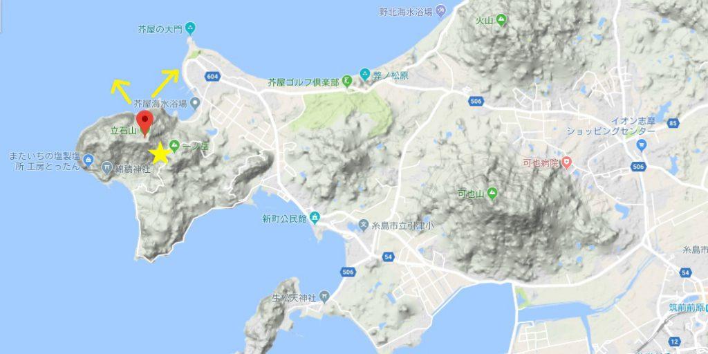 立石山 マップ